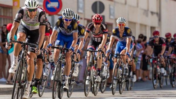 photo course de vélo - étape 3