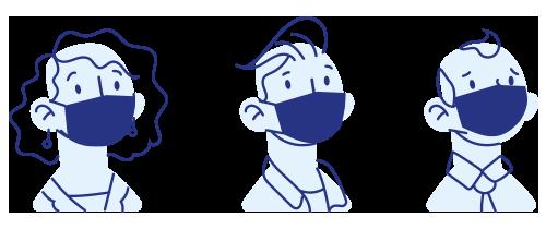 port du masque obligatoire en agence
