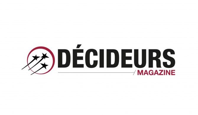 logo les décideurs magazine