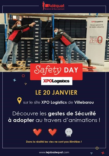affiche safety day xpo